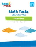 hand2mind Math Tasks with Color Tiles, Geometry, Number an