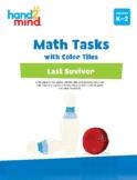 hand2mind Math Tasks with Color Tiles, Number, Mental Math