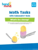 hand2mind Math Tasks with Cuisenaire Rods, Number and Prob