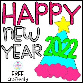 happy new year free craftivity