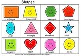 happy shapes chart