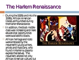 harlem Renaissance power point!!