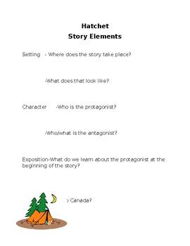 hatchet story elements