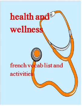 health & wellness FRENCH
