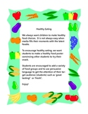 healthy snack poster