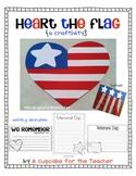 Heart the Flag {Craftivity}