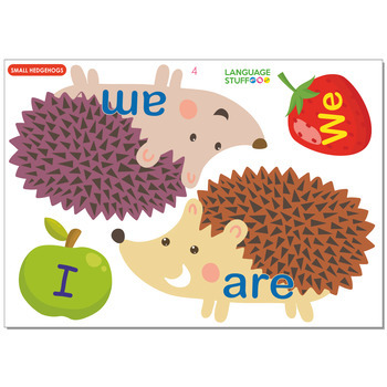 hedgehogs pronouns+verbs
