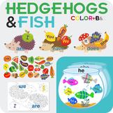 Hedgehogs pronouns+verbs