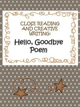 hello goodbye poem