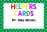 helpers cards