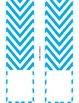 Binder Covers Editable, Chevron Border, Editable Binder Co