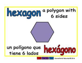 hexagon/hexagono geom 1-way blue/rojo