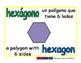 hexagon/hexagono geom 1-way blue/verde