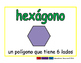 hexagon/hexagono geom 2-way blue/verde