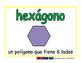 hexagon/hexagono geom 2-way blue/verde