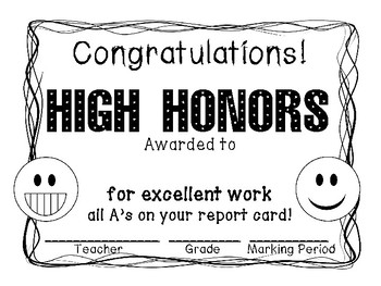 Honor roll certificates to print worksheet coloring pages high honors honor roll certificate print and go emoji color black a b honor roll certificate template honor roll certificates to print yelopaper Images