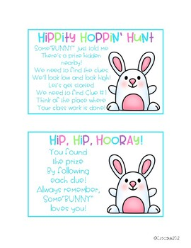 Hippity Hoppin' Hunt {Freebie}