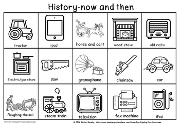 history now and then sort