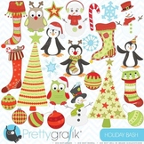 holiday christmas clipart, commercial use, vector graphics - CL403