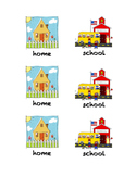 home and school folder labels