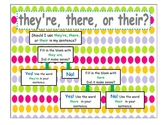 homophone flow chart (to, too, two and there, their, they're)