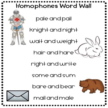 homophones synonyms antonyms grammar worksheets and anchor charts