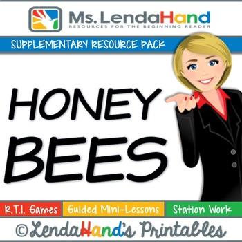 Reading Street, HONEY BEES, Teacher Pack by Ms. Lendahand:)