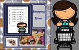 Shopping Spree Teaching Money $$$