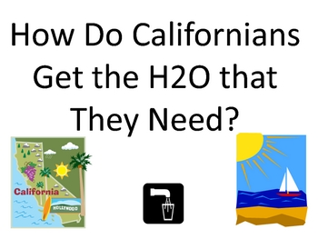 how do californians get the water that they need?
