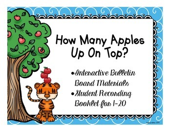 how many apples up on top: interactive bulletin board/reco
