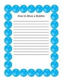 how to make a bubble page