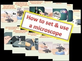 How to set and use a light microscope