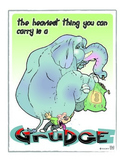 human behavior poster: grudgephant