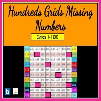 hundreds Grids  1-1100