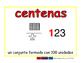 hundreds/centenas prim 2-way blue/rojo