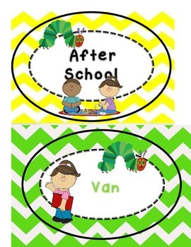 hungry caterpillar how we go home chart