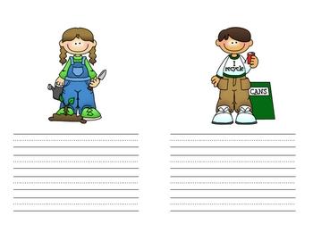 i Can Help - An Earth Day Reproducible Book