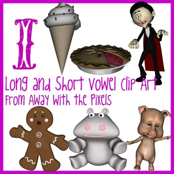 i - Long and Short Vowel Clip Art - Large High Quality Clipart for Teachers