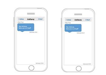 i-Phone Door Display