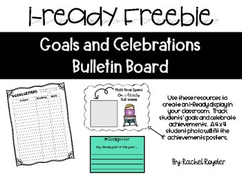 I Ready Bulletin Board By Putting It All Together In 1st Tpt