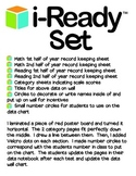 i-Ready Data Wall, Data Notebook Pages, Record Keeping FUL