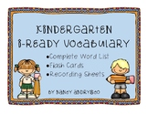 i-Ready Kindergarten Vocabulary Pack