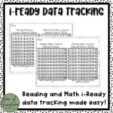 i-Ready Reading and Math Lesson Tracker