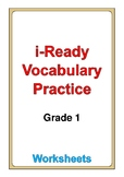 i Ready Vocabulary Grade 1 worksheets