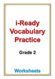 i Ready Vocabulary Grade 2 worksheets