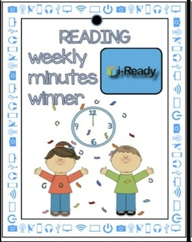 Free i-Ready Weekly Winner and Fall Diagnostic Brag Tags