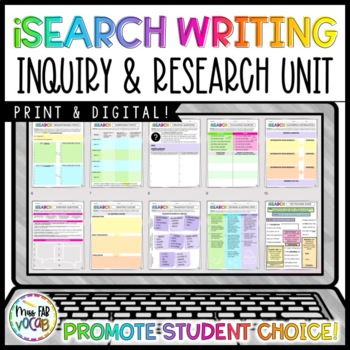 #newdeals i-Search Writing Unit: Independent Student Choice Research