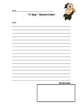 i-Spy Adjectives