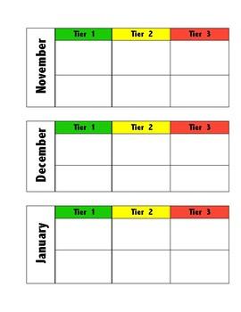 i-Station yearly data sheet