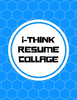 Get to know you: i-Think Resume: Collage